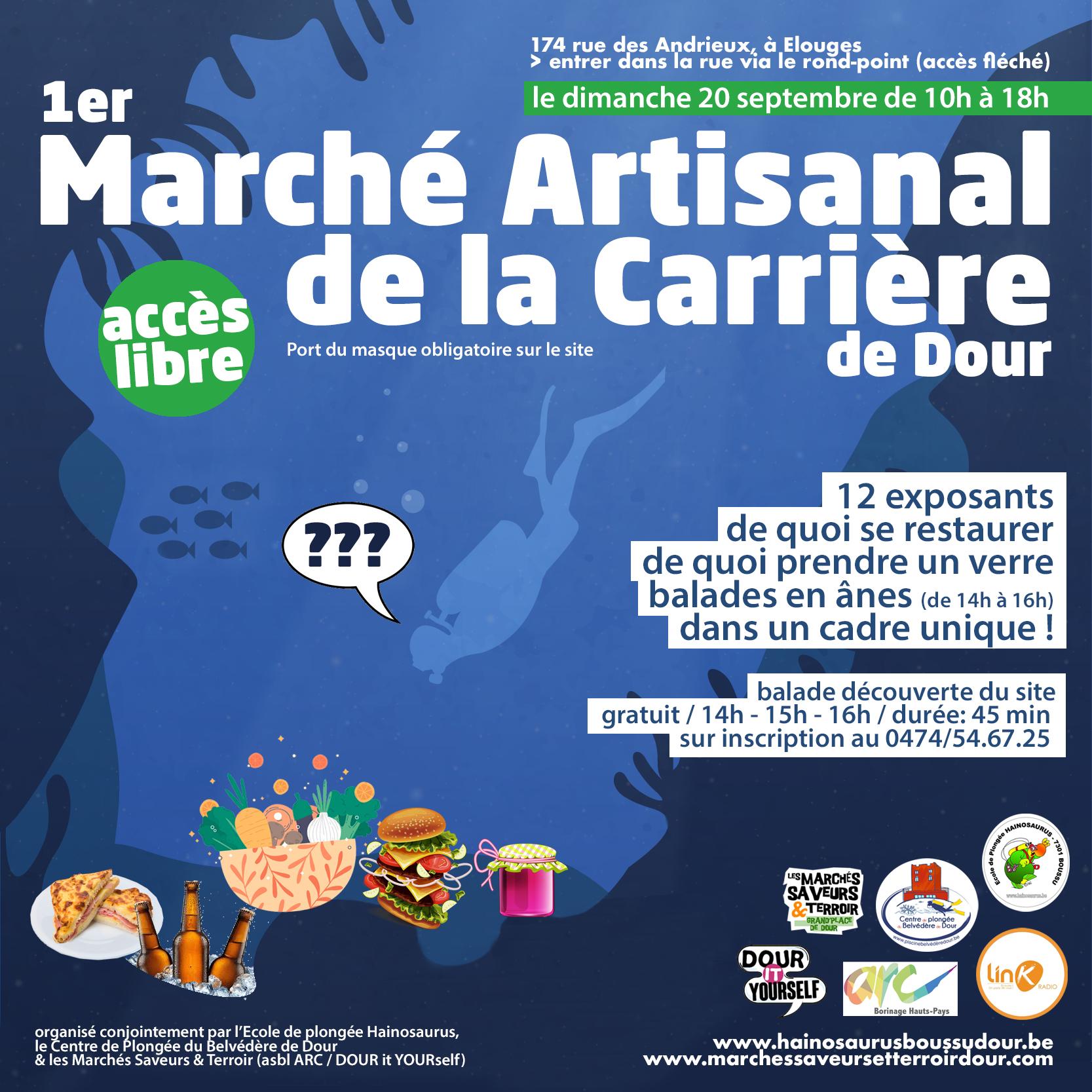 Marché Des Terroirs 20 Septembre 2020 @ Carrière De Dour